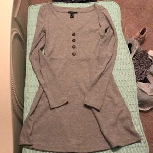 Juniors Forever 21 long sleeve skater dress